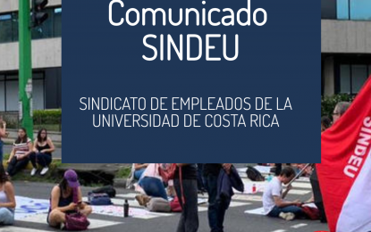 Comunicado JDC – SINDEU