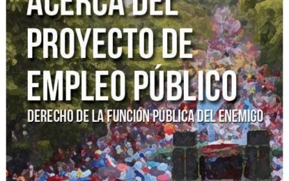 Cuaderno Proyecto Ley Marco de Empleo Público
